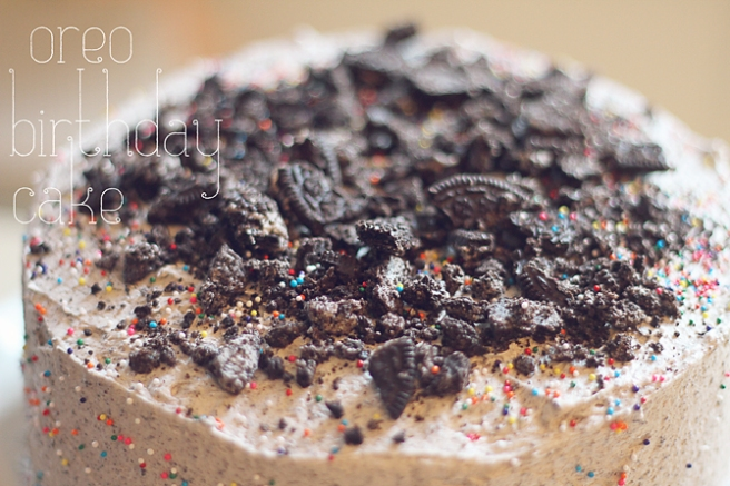 Oreo Birthday Cake PP