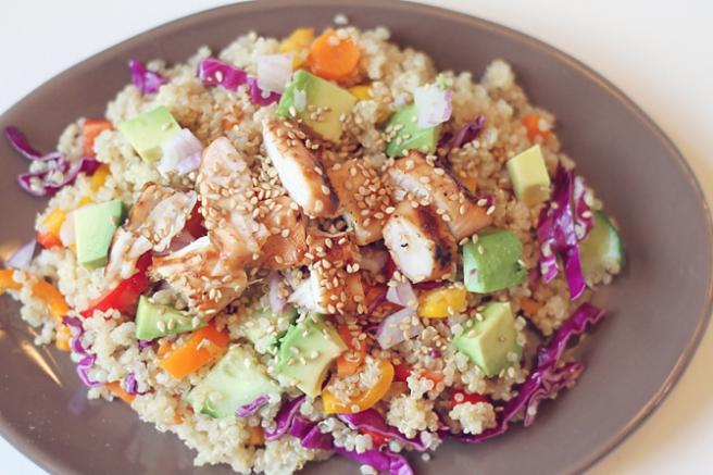 Summer Asian Quinoa Salad 2