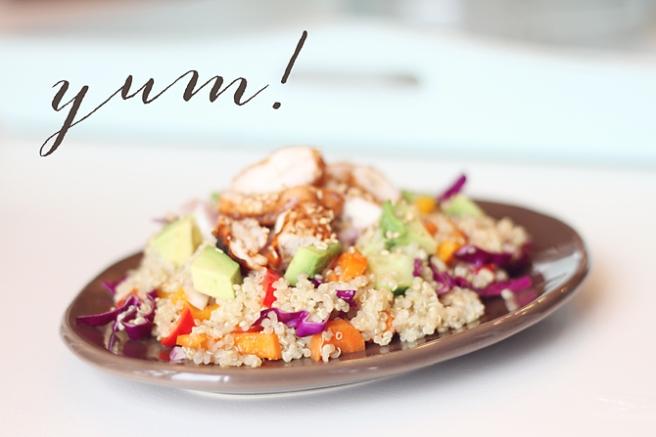 Summer Asian Quinoa Salad 3
