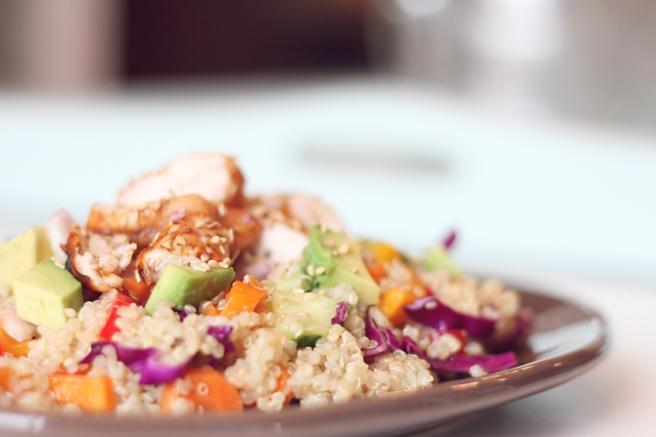 Summer Asian Quinoa Salad 4