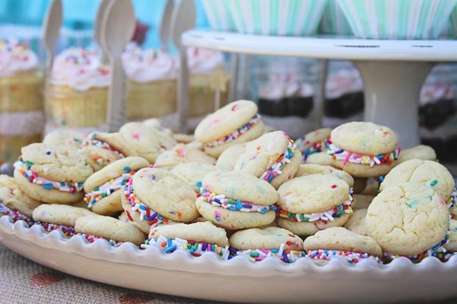www.thepintopony.com  Birthday Cake Cookies