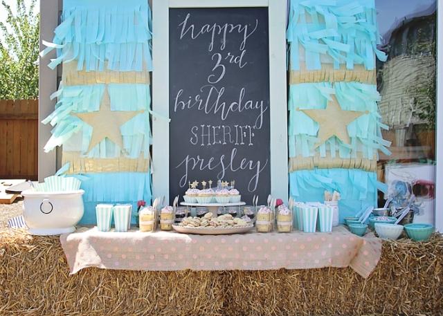 www.thepintopony.com Wild West Party