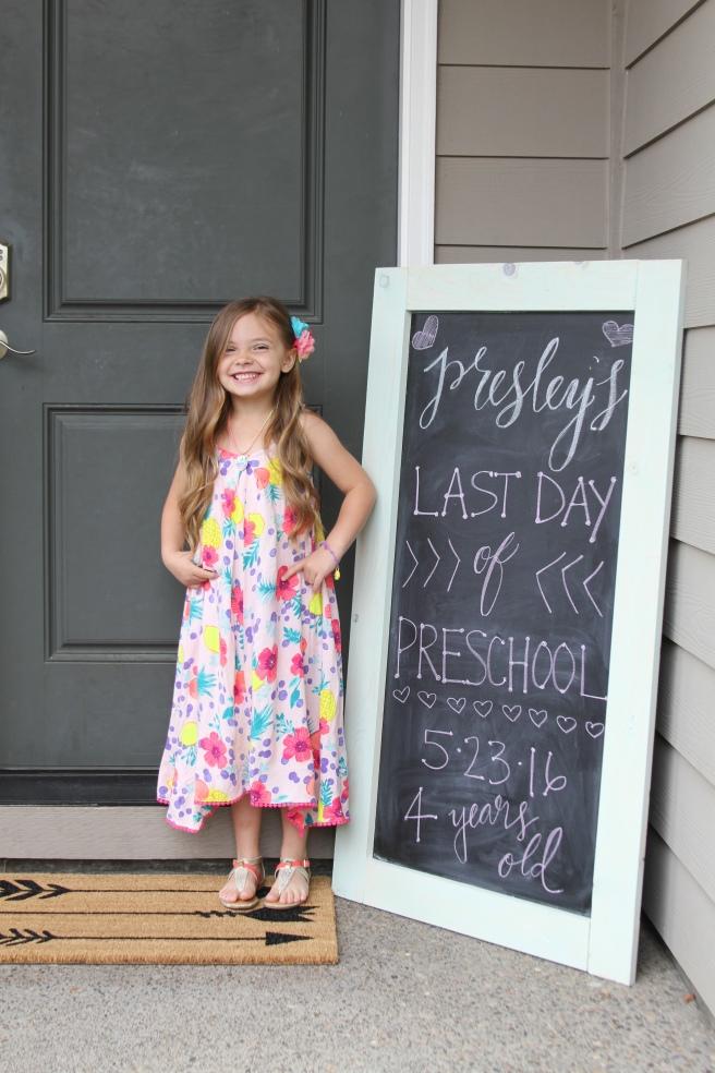 Last Day Preschool 2016-2